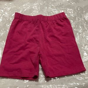 Pink shorts for kids